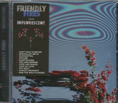 Friendly Fires, Inflorescent, 2019 11 tracks funk/soul, New/Sealed