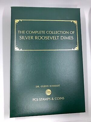 The Complete Set Of Silver Roosevelt Dimes Pcs Stamps & Coins- Dr. Glenn Schmidt