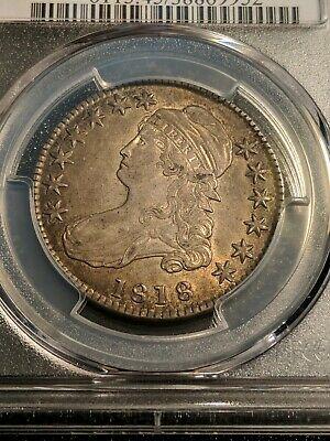 1818 Philadelphia Mint Silver Capped Bust Half Dollar PCGS O-108 XF-45 Beauty!!!