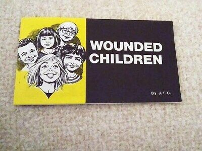 Jack Chick Wounded Children Comic Christian Tract 1983 Gospel Salvation Oop New!