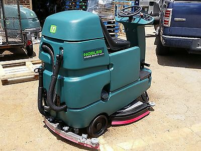 "Nobles Speed Scrub Rider (Tennant T7) 32"" Floor Scrubber. 60 day parts WARRANTY"