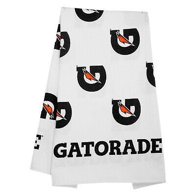 "GATORADE WHITE SPORTS TOWEL /""Great For All Sports/"" Nice Towel *NEW 42 X 24"