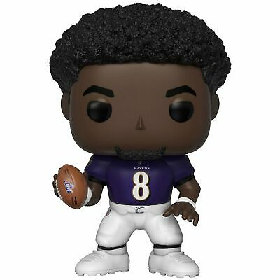 Funko Pop! Football NFL Lamar Jackson (Ravens) in stock now