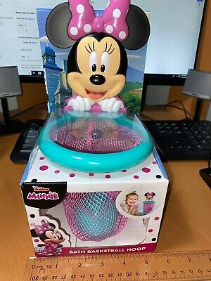 Disney's Minnie Mouse Bath Basketball Hoop Toy