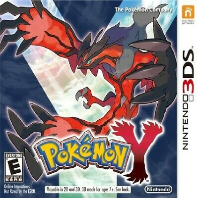 Pokemon Y (Nintendo 3DS, 2013) COMPLETE