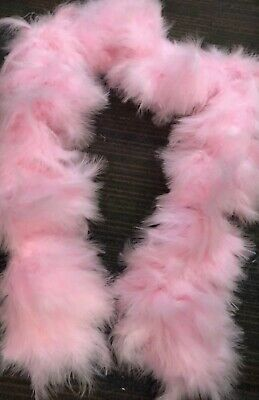 Massive Showgirl Stage Soft feather boa 180g Baby Pink