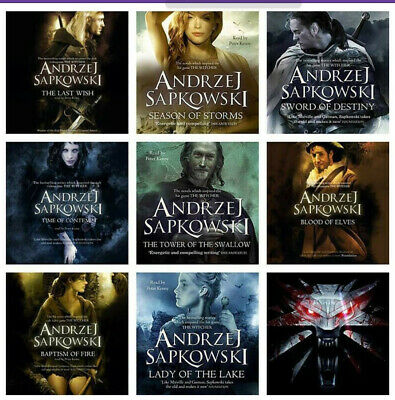 The Witcher Book Series by Andrzej Sapkowski