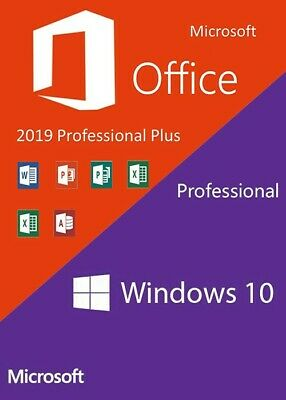PENDRIVE-USB -Windows 10 Pro + Office 2019 Pro + Licenze + istruzioni-ITA