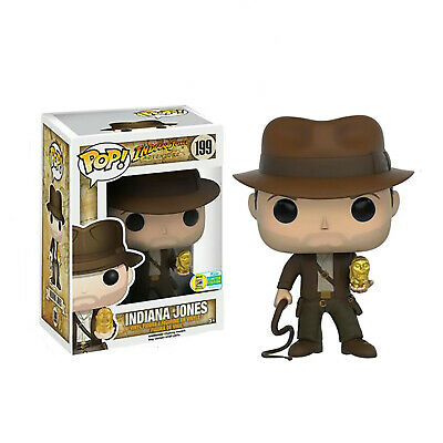 Indiana Jones #199 Funko Pop New/Box! FREE Protective PACKAGING for shipment!