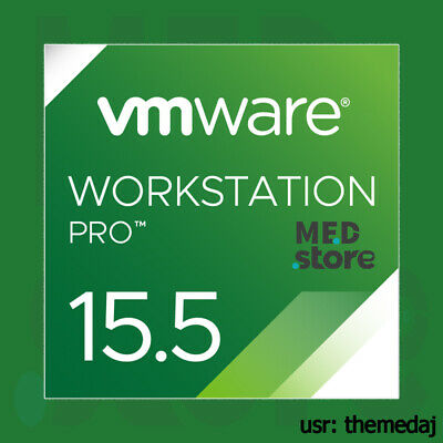 VMware Workstation 15.5 Pro for Windows ✅ Lifetime ✅ 5 PCs FAST DELIVERY 🔥