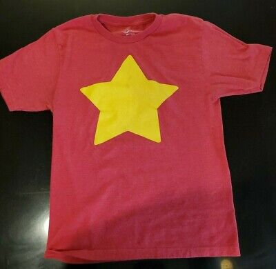 Steven Universe YELLOW STAR *XS* Women Men Unisex RED T-shirt Adult Comedy Cntrl