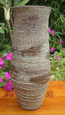 ANTIQUE JAPANESE VASE SHIGARAKI CERAMIC / SHINO GLAZE 19th C. EDO ERA / SIGNED
