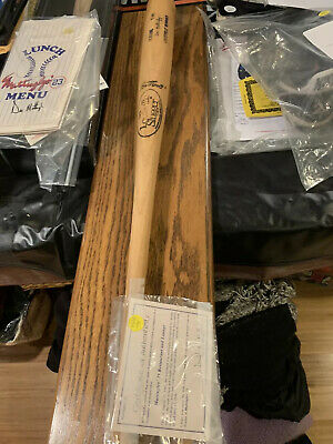 NY Yankees Don Mattingly Game Bat Rare From Mattingly's Restaurant Collection