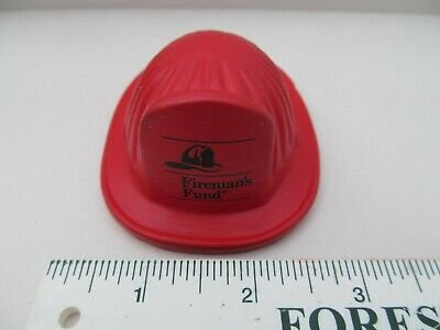 Fireman's Hat Stress Ball Toy FUND Squeezable Stress Relievers Squeeze Ball