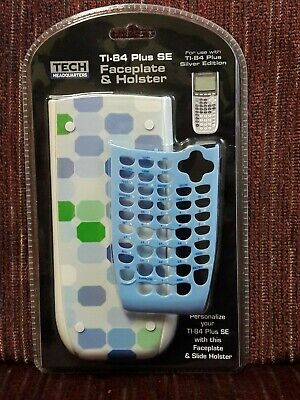 Smooth Talk Tech Headquarters FACEPLATE & HOLSTER for TI-84 Plus SE Calculator