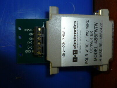 B&B Electronics 485Fwtw Converter New