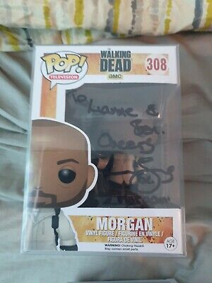 Morgan Walking Dead Funko Pop Signed By Lennie James