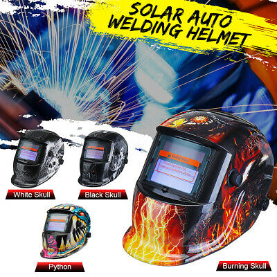 Solar Auto Darkening Welding Helmet Mask MIG/ARC/TIG Welder Machine 3 Types