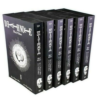 Death Note Black Edition Complete Collection Manga Comic Book Graphic Novel