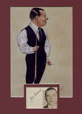 JOE DAVIS ink signed page + caricature  pic in display UACCRD retirement sale