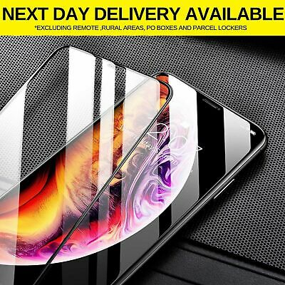 5D Full Coverage Apple iPhone 11 pro Max XS X XR Screen Protector Tempered Glass
