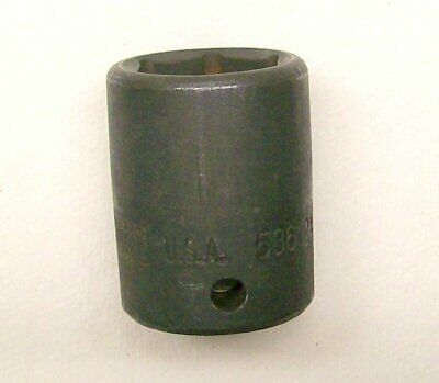 """K-D Tools 24MM,  #536124 Impact 6 Point Socket 1/2"""" Drive Made USA"""