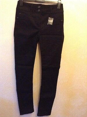 BNWT❤️Next❤️Size 10 Long Skinny Stretch Lift, Slim & Shape Black Jeans £ 45 New