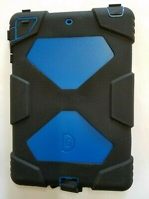 For iPad Mini Blue Defender Case Shockproof Cover Built-in Screen Protector