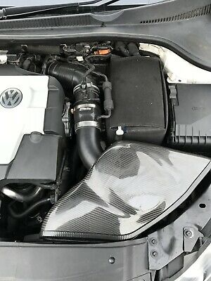 VW Golf GTI GTD Carbon Fibre Air Intake  BP Racing Induction  TSI TDI