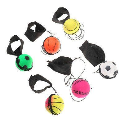 60mm Bouncy Wrist Band Ball Elastic Rubber Ball Wrist BounSYW