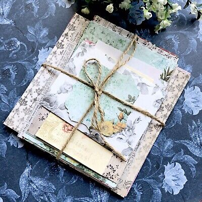 Gorgeous Vintage Style Craft Paper Pack / Junk Journal/ Card Making/ Scrapbook