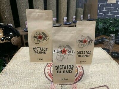 Free Shipping 1Kg The Dictator Blend - Fresh Hot Hair Roasted Coffee Beans
