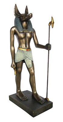 8.75 Inch Egyptian Anubis Sculpture Figurine Ancient Egypt God Statue  Pagan