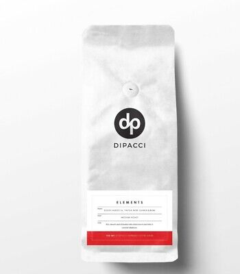 COFFEE BEANS 1kg ELEMENTS BLEND SMOOTH CAFE STYLE MEDIUM  ROAST