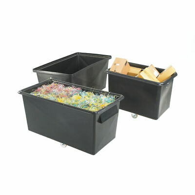 NEW! Recycled Container Truck Poly Tapered Sided Black 329063