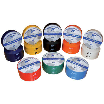 Premier Sock Tape Stretch Football Rugby Sock Tape