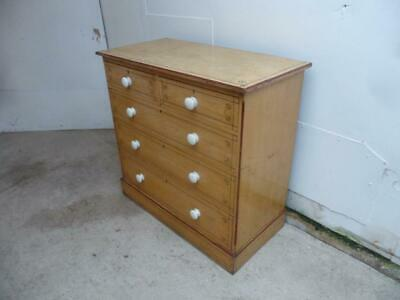 An Originally Painted Arts&Crafts Antique/Old Pine Chest of Drawers c1905