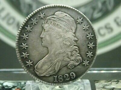 1829 Capped Bust Half Dollar 50c #1   East Coast Coin & Collectables, Inc.