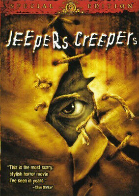 Jeepers Creepers DVD 2001 PART 1 MOVIE Justin Long, Gina Philips JEEPERSCREEPERS