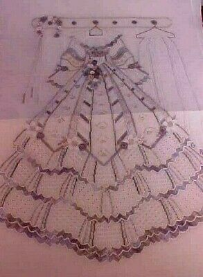 Gay Ann Rogers Chloes Wedding Dress Needlepoint Charts Instructions Class Notes