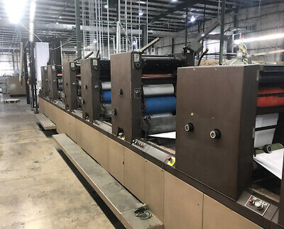 DIDDE 860 Web Press 5 Color - 3 over 2  Located in Virginia