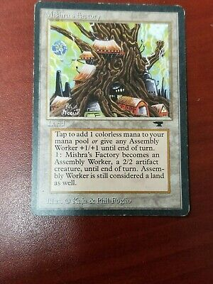 1 PLAYED Mishra/'s Factory Land Fourth 4th Edition Mtg Magic Uncommon 1x x1