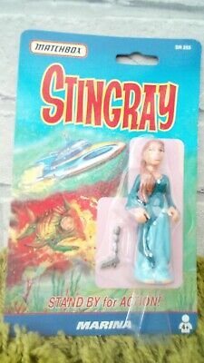 Vintage Gerry Anderson Matchbox Stingray Marina figure New Sealed
