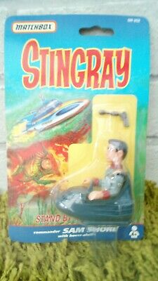 Vintage Gerry Anderson Matchbox Stingray Sam Shore figure New Sealed
