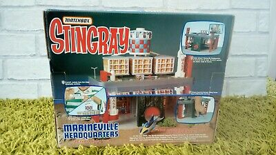 Vintage Gerry Anderson Matchbox Stingray marineville Set Boxed new