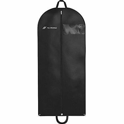 Garment Bag For Travel And Storage 54&quot X 24&quot - Hanging Black Suit Dress