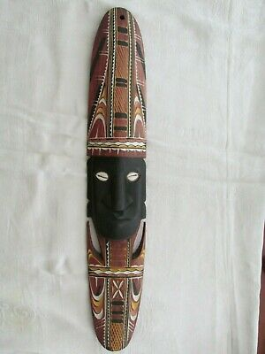 Vintage 1950s Papua New Guinea Wall Mask