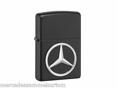 Originale Mercedes Benz Accendino Zippo Nero Made USA
