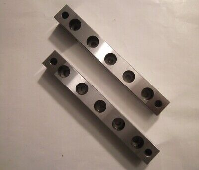 Perfectly Matched Set Of .7500 x .7450 x 5.7500 Precision Ground Parallels