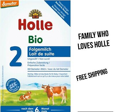 Holle Stage 2 Organic Follow-On Milk 600g, 3 boxes, exp04/21